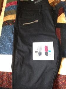 Ooh, fancy pocket zippers.